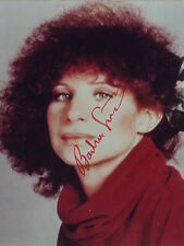 Barbra Streisand Hand signed Autographed 8x10 photo