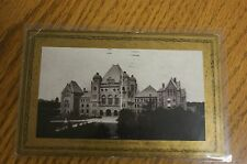 1906 Posted Ontario Parliament buidling toronto post card