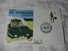 1970 fdc gibraltar british air montagnes expedition-signé # d