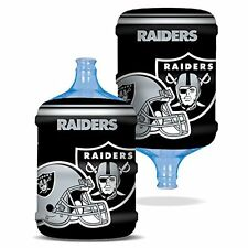 NFL Oakland Raiders Bottle Skinz Water Cooler Cover, Large/5 gallon, Black