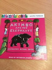 ALEXANDER McCALL SMITH AKIMBO & THE ELEPHANTS  PROMO AUDIO BOOK