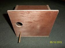GOULDIAN FINCH NEST BOX FOR & CAGE & AVIARY BIRDS