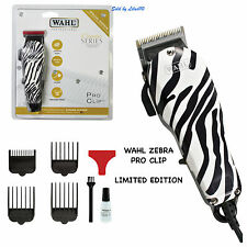 WAHL PROFESSIONAL ZEBRA PRO CLIPPER - LIMITED EDITION (UK Plug)