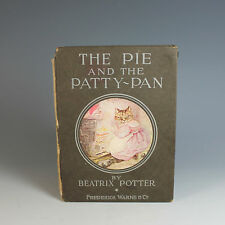 The Pie and the Patty Pan Beatrix Potter 1905 Antique Children's Book
