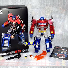 Transformers MP - 10H Giant commander crystal transparent version of car spot