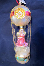 Christopher Radko Angels We Have Heard On High Wire Wrapped  Xmas Ornament, Ltd