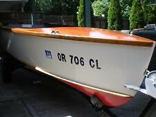 1952 Chris Craft 14' Runabout Kit Boat, FULLY RESTORED, 10HP JOHNSON OUTBOARD!