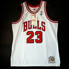100% Authentic Michael Jordan Mitchell Ness 97 98 Bulls Home Jersey Size 48 XL *