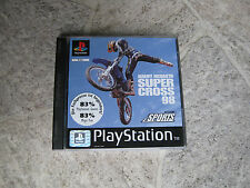 Jeremy McGrath Super Cross Playstation 1 PS PAL MINT g230