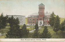Cheney WA * State Normal School 1911 Housekeepers & Faculty Meeting Notice PC