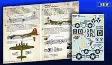Print Scale - 72-236 - Decal Boeing B-17 Flying Fortress Part 1 - 1:72   **NEW**