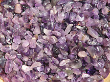 Amethyst Crystal Chips, 100 grams  - Purple - Un drilled