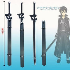 New Anime Sword Art Online SAO Gun Gale GGO Kirito Black Elucidator Cosplay  US