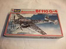 Flugzeug Modell Bausatz 1:72 Revell Messerschmitt Bf 110 G-4 Wehrmacht 2. Wk