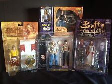 BUFFY THE VAMPIRE SLAYER ANGEL 6 ACTION FIGURE SET SPIKE DRUSILLA  LOT S-55