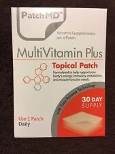 PatchMD MultiVitamin Plus  * 30 Day Supply - SALE ($1 SHIPPING)