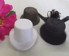 "CL 25 RESIN DOLL RIDING HAT FORM MOLD 7-8 -8 3/4"" head  BLEUETTE FRENCH FASHION"
