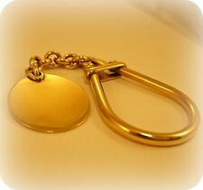18 carat Yellow Gold Key Fob / Key Ring, by Boodles