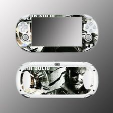 Metal Gear Solid MGS Peace Walker Big Boss Video Game Skin Sony PS Vita 1000