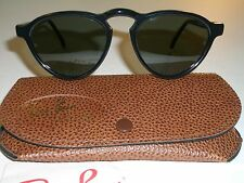 VINTAGE B&L RAY BAN W1528 G15 THICK SHINY BLACK GATSBY STYLE 7 SUNGLASSES NEW