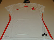 FIFA Netherlands 2015 Women's World Cup Soccer Ladies Jersey SS Small Away