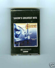 CASSETTE TAPE (NEW ) SAXON'S GREATEST HITS