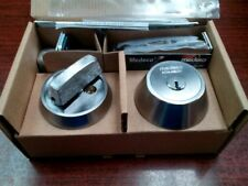 NEW Medeco M3  SINGLE CYLINDER DEADBOLT Lock with 3 KEYS AND DUPLICATION CARD