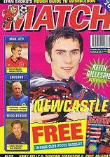 NEWCASTLE / MAN UTD / MIDDLEBORO Match Jun 10 1995