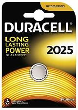 4 x Duracell 2025 3V Lithium Coin Cell Batteries CR2025/DL2025 Battery - New