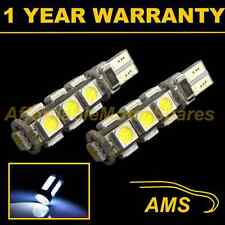 2X W5W T10 501 CANBUS ERROR FREE WHITE 13 LED NUMBER PLATE LIGHT BULBS NP101801