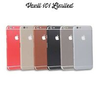 Full Body Wrap Decal Leather Sticker Skin Case Cover For iPhone 5 5C 6 6S Plus