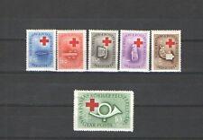 Q2573 - UNGHERIA - 1957 - SERIE COMPLETA ** CROCE ROSSA - VEDI FOTO