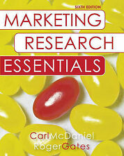 Marketing Research Essentials: WITH SPSS by Carl McDaniel, Roger H. Gates...