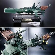 SOUL OF CHOGOKIN GX-67 CAPITAN HARLOCK SPACE PIRATE BATTLESHIP ARCADIA  - BANDAI