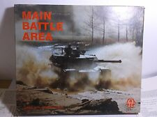 MAIN BATTLE AREA (Omega Games, 1985) - Boxed, punched, VG CONDITION