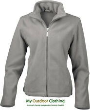 Result Ladies Full Zip Fleece Jacket - 12 - Grey