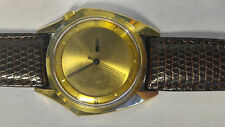 VINTAGE ZODIAC OLYMPOS AUTOMATIC MENS  WATCH =RUNS GREAT all original