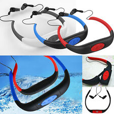4GB Waterproof Sports MP3 Player FM Radio Headset for Swimming Surfing Diving U