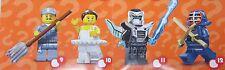 Lego 71011 Minifiguren Serie 15,  Samurai Krieger Ninja 2 x Schwert # 12 NEU