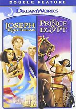 Prince of Egypt & Joseph King of Dreams Films Movies DVD Set Animated Bible Kids
