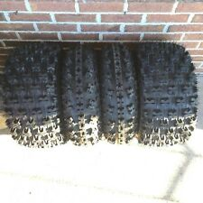 21x7-10 & 20x10-9 NEW ATV TIRE SET All 4 Tires Yamaha Raptor 700R 660R 2001-2016