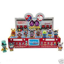 Disney Vinylmation Robots Series 3 Factory Sealed Case 24 Box Tray & Chaser