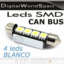 2 BOMBILLAS DE LED CAN BUS FESTOON 43MM MATRICULA,INTERIOR,MALETERO.ENVIO GRATIS