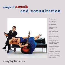 CD KATIE LEE SONGS OF COUCH AND CONSULTATION IT MUST BE SOMETHING PSCHOLOGICAL