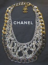 CHANEL $2900 BIB STYLE RUNWAY NECKLACE NEW in BOX