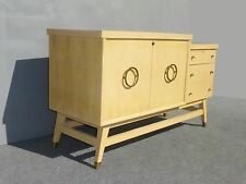 Vintage Mid Century Credenza Ceder Lined Chest with Drawers ~ Virginia Maid