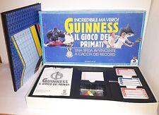 Guinness Il Gioco dei Primati Schmidt Giochi Ricordi Libro Scatola Società Raro