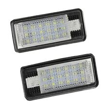 SA 2x 18 LED License Number Plate Light Lamp For Audi A3 S3 A4 S4 B6 A6 S6 A8