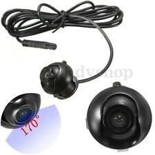 360° CCD HD Car Auto 170° Wide Angle Parking Front Side View Camera Waterproof