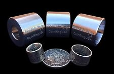 """FULL Coin Ring """"Swedish Wrap Method"""" Set of Extrusion Dies for Small Coin Rings"""